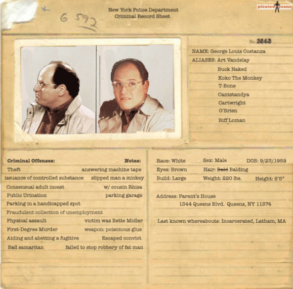 criminal record george