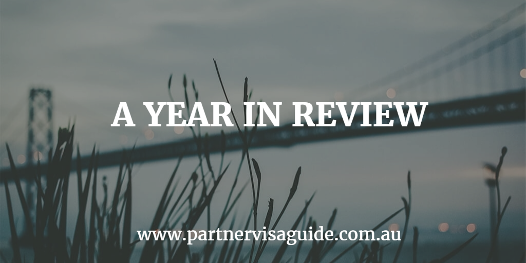 A year in review for partner visa